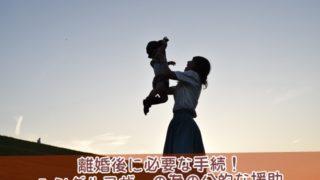 シングルマザーの為の公的な援助